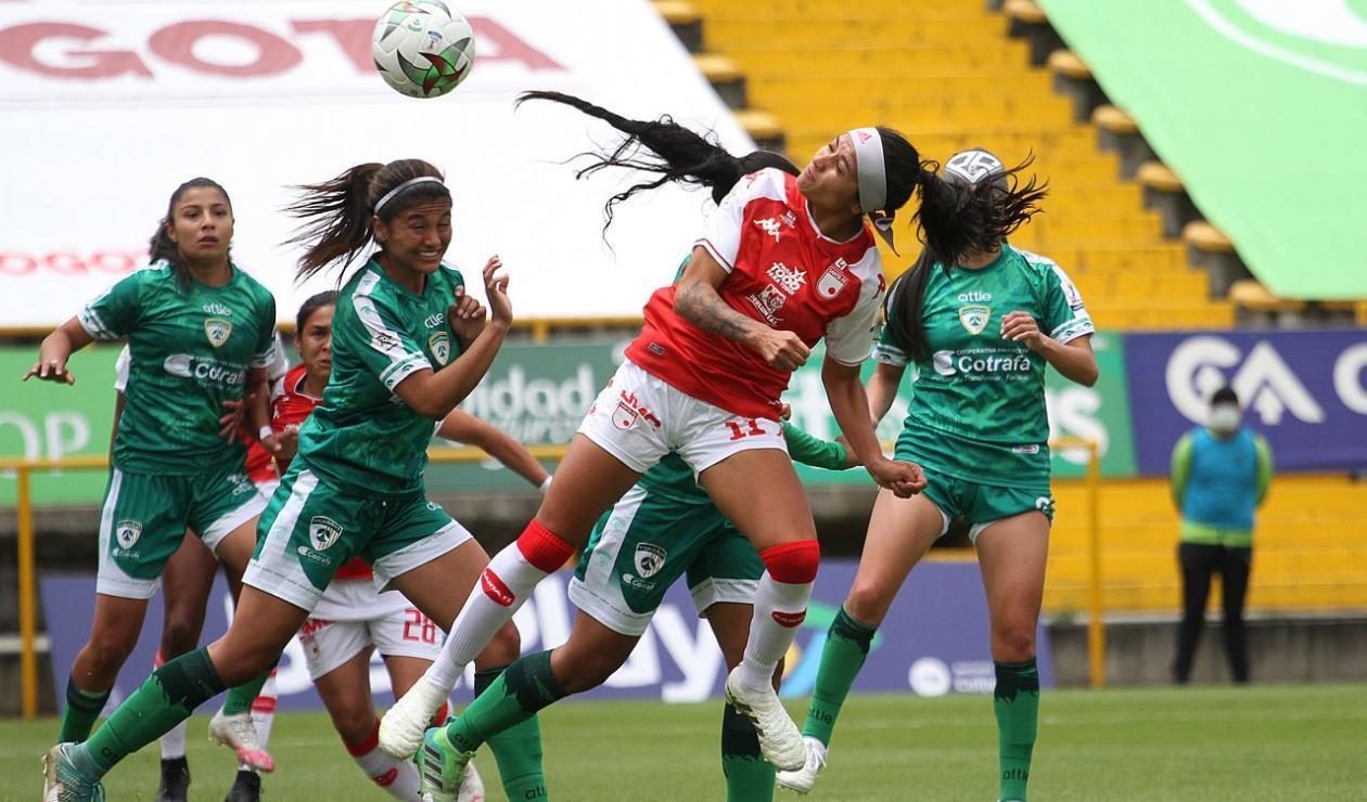 Santa Fe vs La Equidad, Liga femenina.