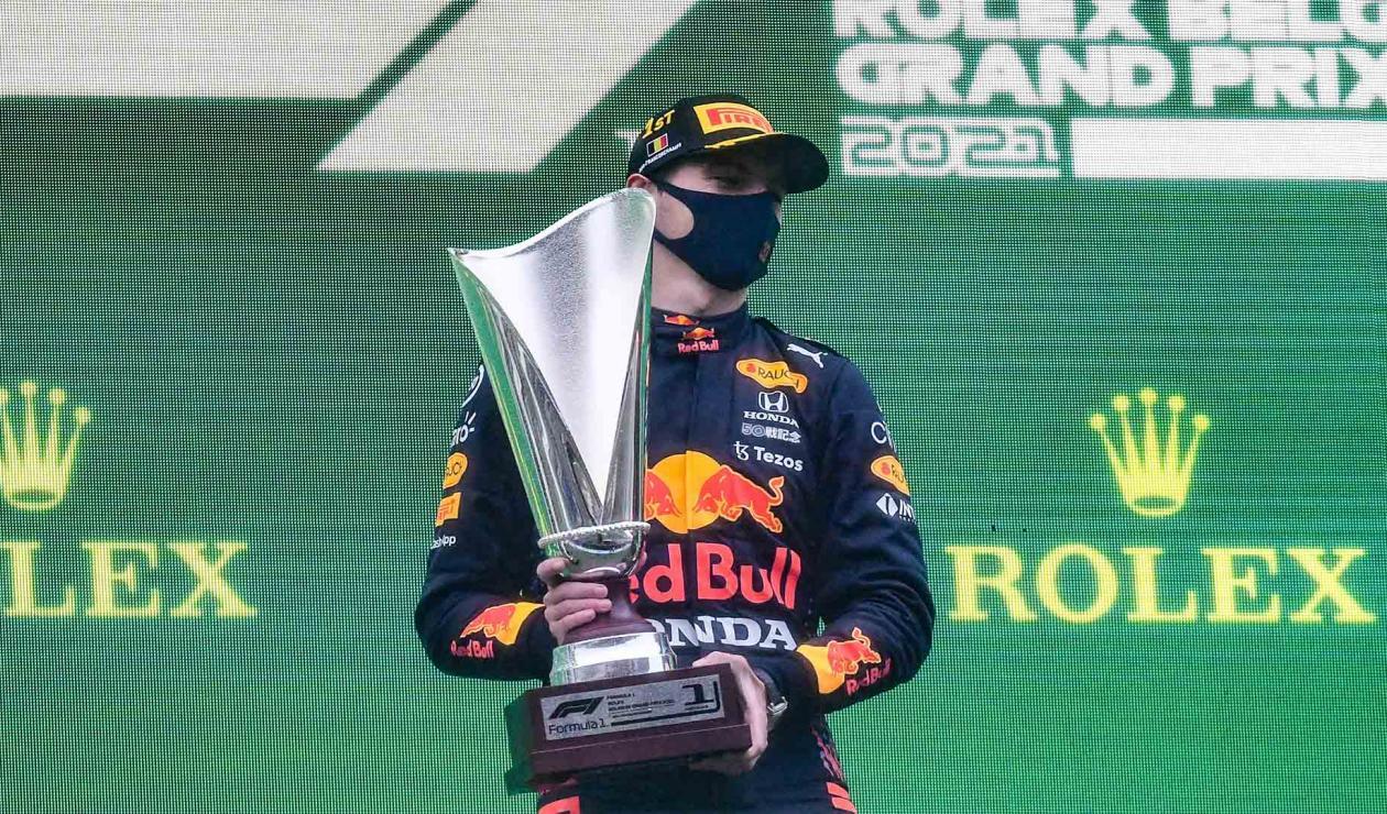 Verstappen ganó el GP de Bélgica