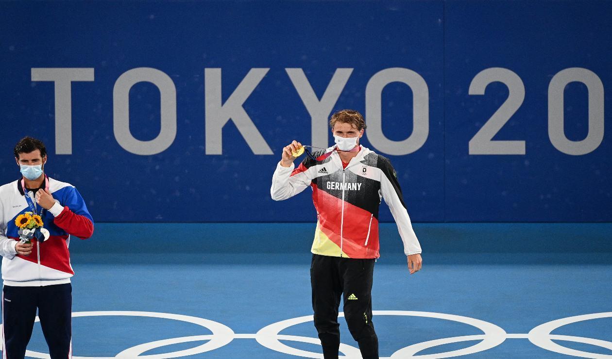 Zverev, oro en los Juegos Olímpicos