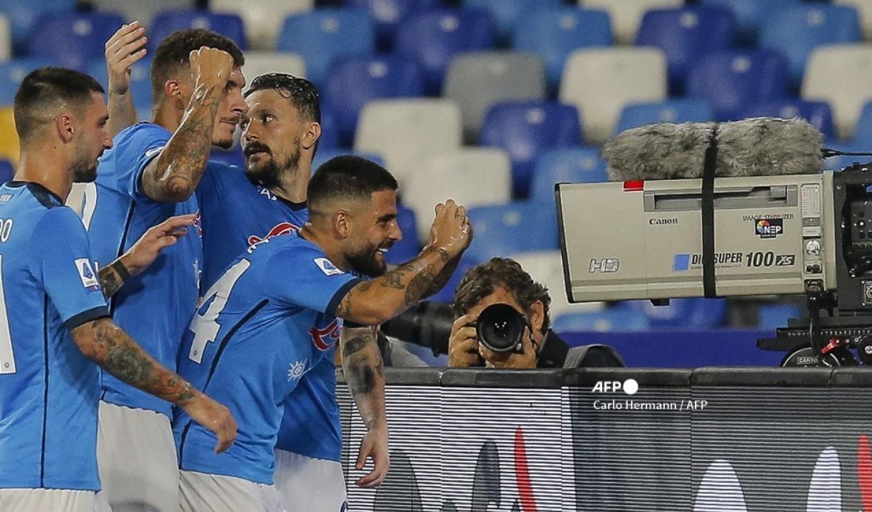 Napoli vs Spartak Moscú, Europa League