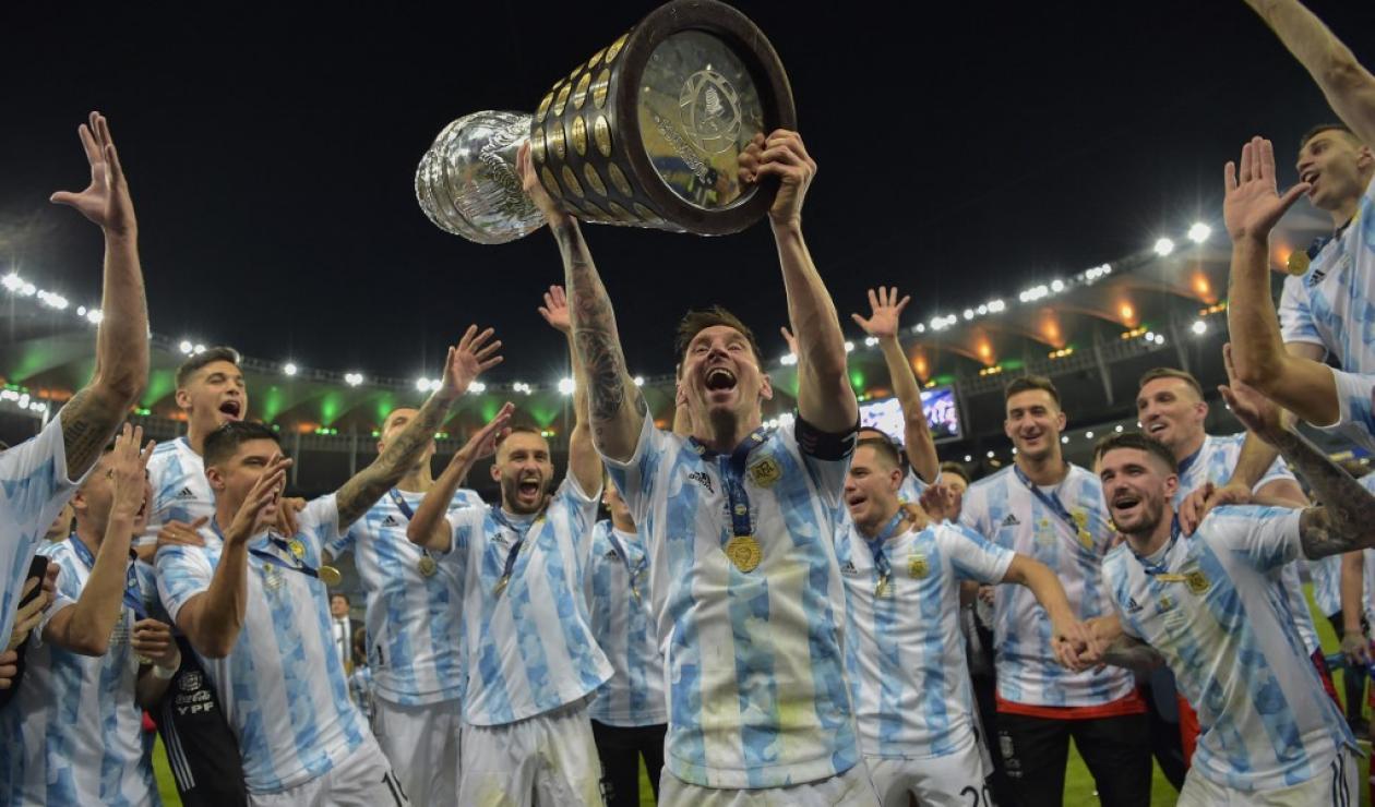 Argentina vs Italia, Conmebol