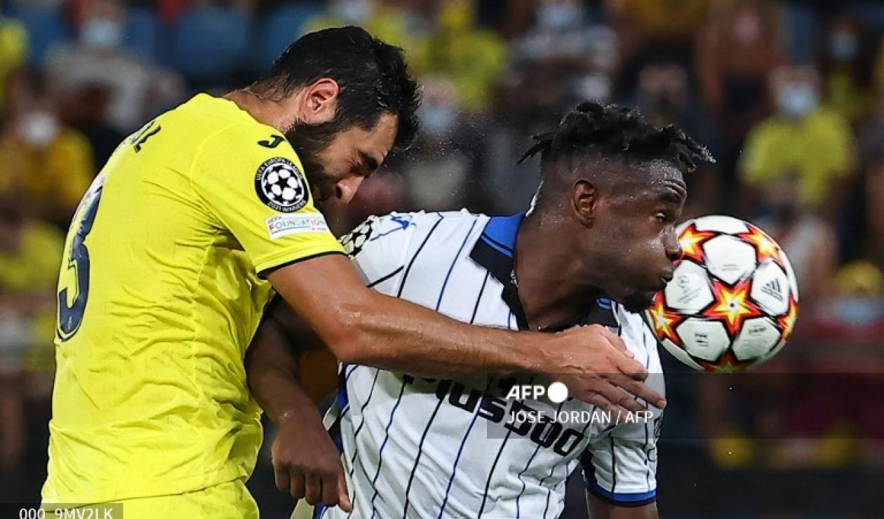 Villarreal vs Atalanta, Champions League