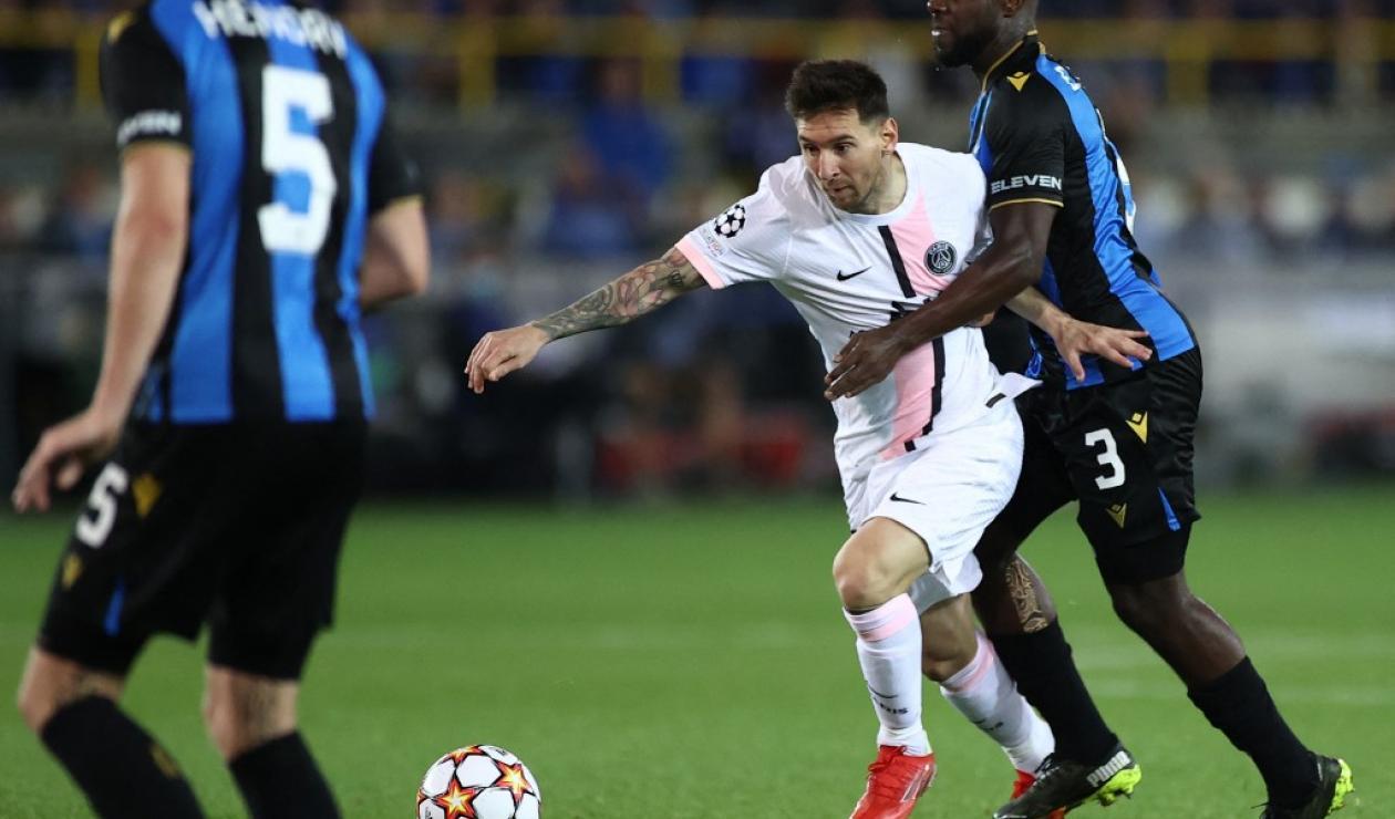 Brujas vs PSG; Champions League