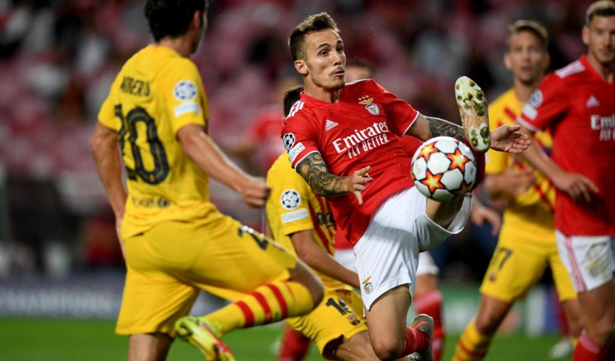 Benfica vs Barcelona; Champions League