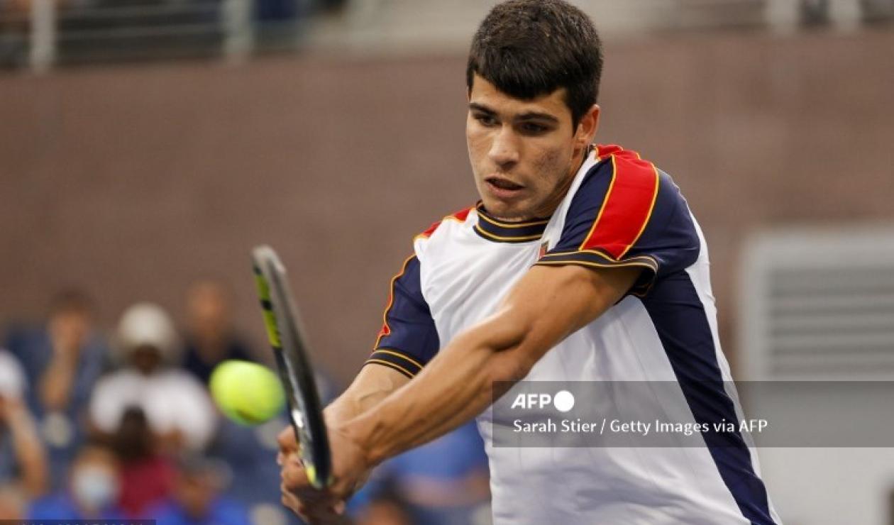 Carlos Alcaraz, tenista español