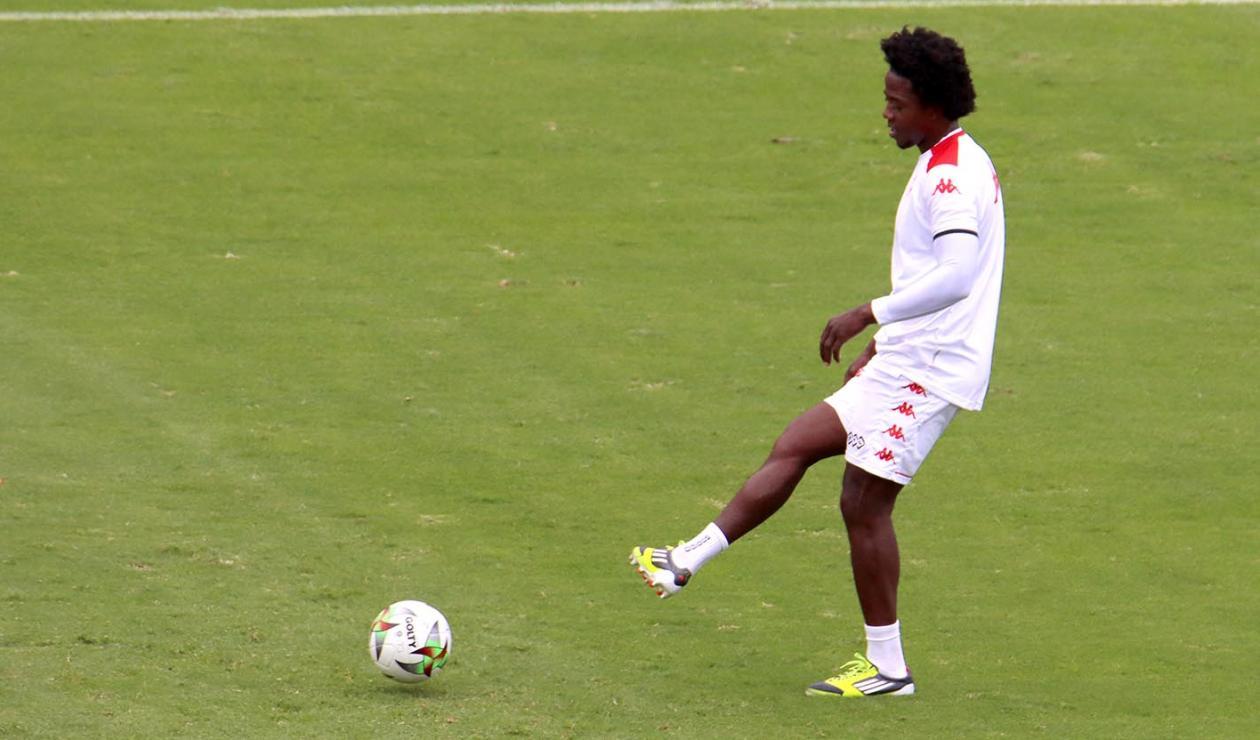 Carlos la 'Roca' Sánchez, debut Liga Betplay 2021-II