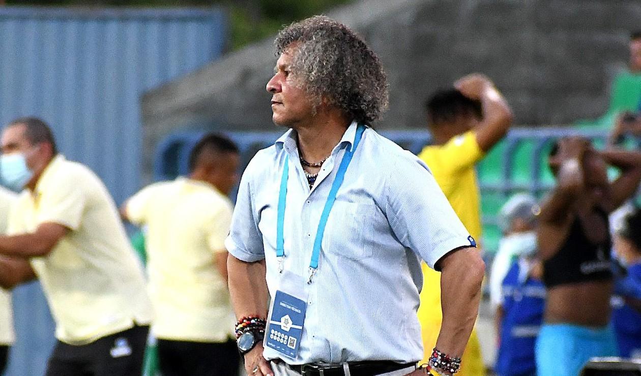 Alberto Gamero, técnico de Millonarios 2021-II