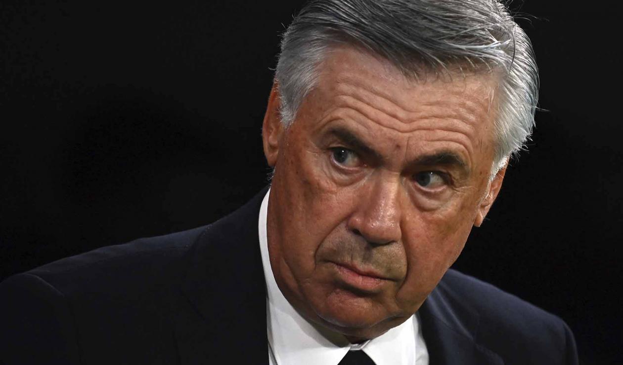 Ancelotti, técnico del Real Madrid
