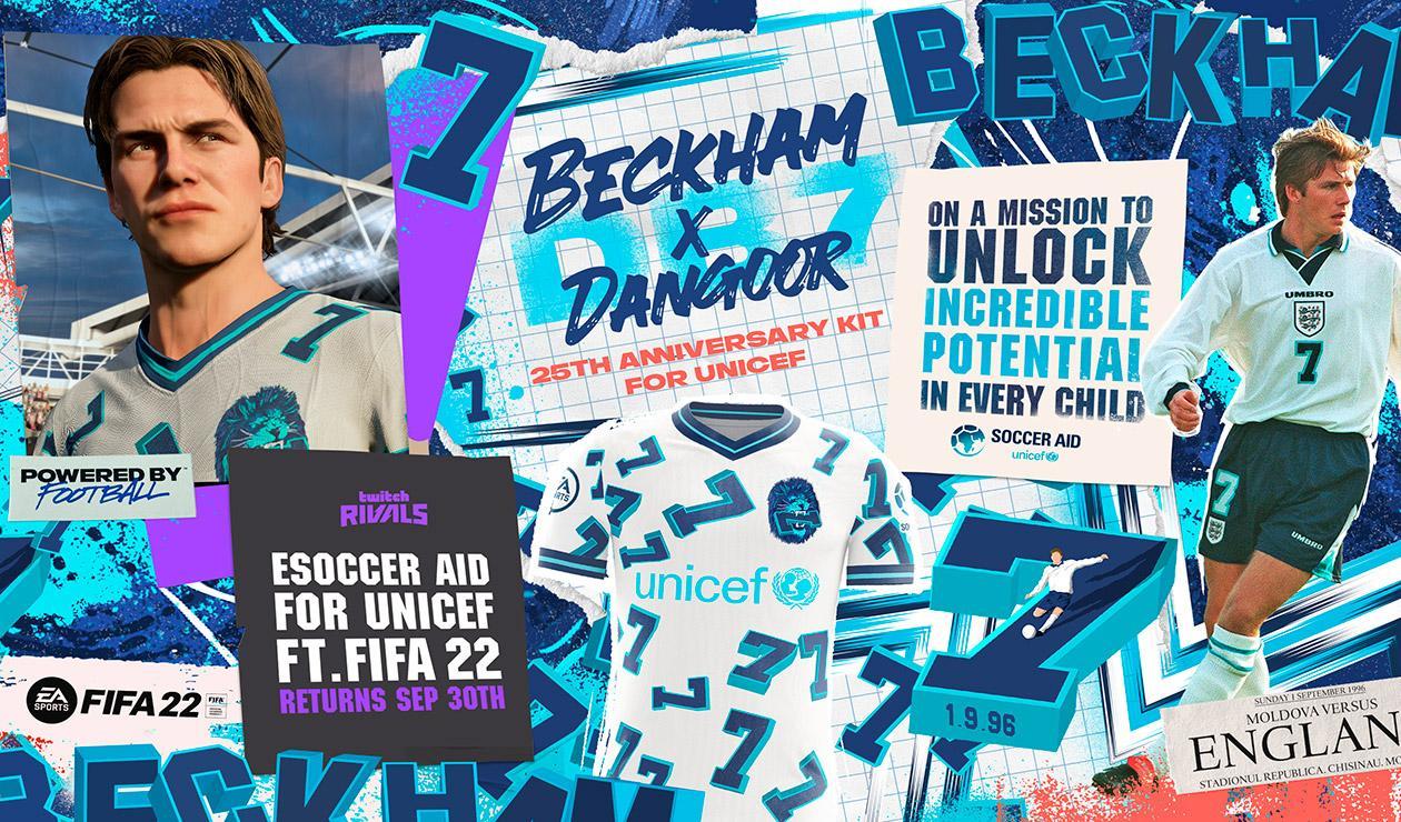 David Beckham en FIFA 22
