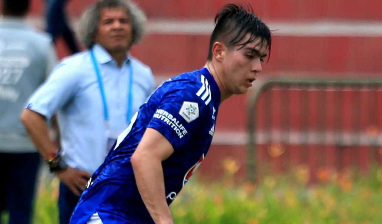 Daniel Ruiz, jugador de Millonarios