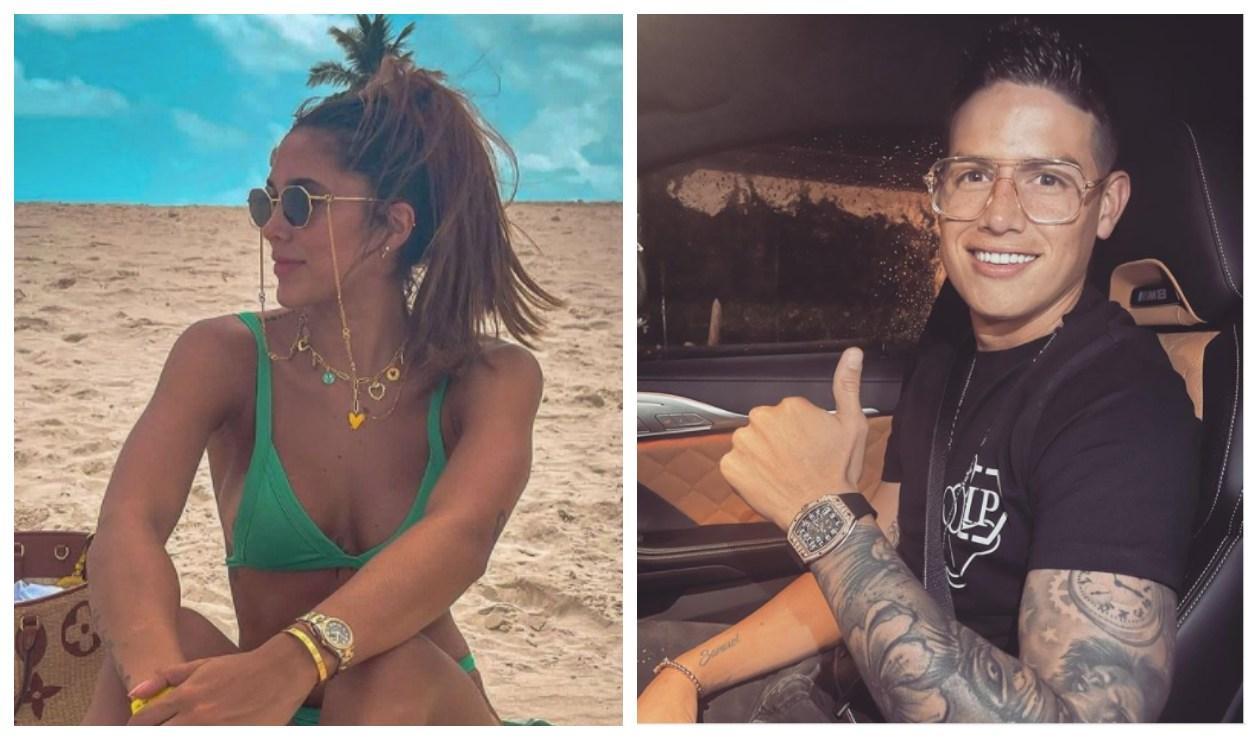 Daniela Ospina y James