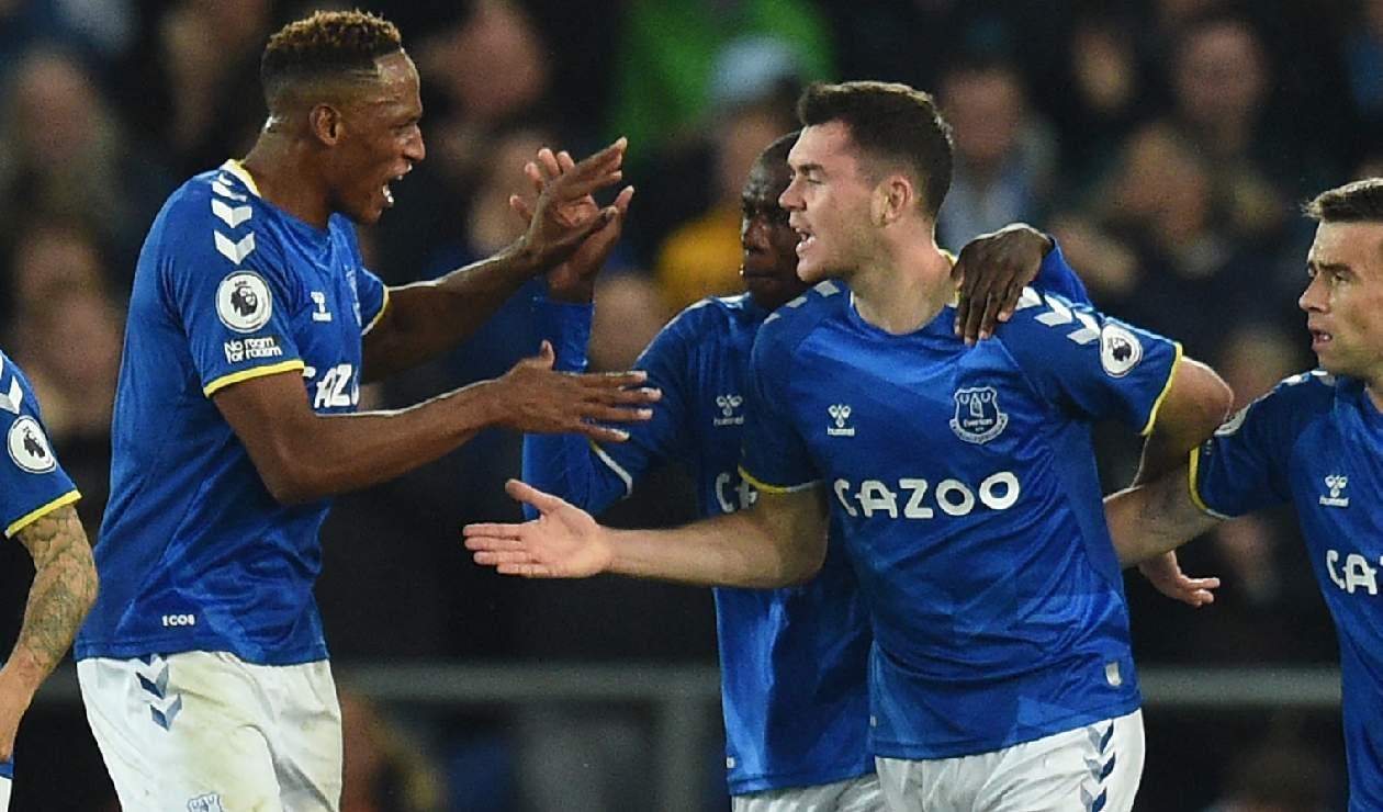 Everton - Yerry Mina - 2021