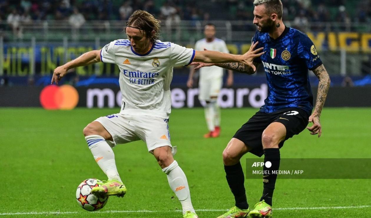 Inter vs Real Madrid 2021-II