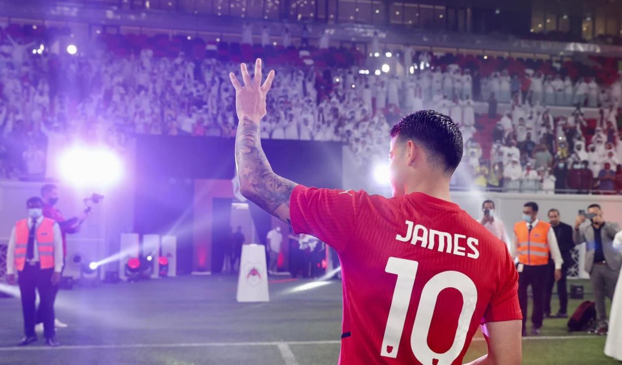 James Rodríguez hoy, Al Rayyan