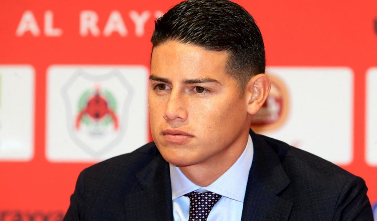 James Rodríguez, jugador de Al-Rayyan