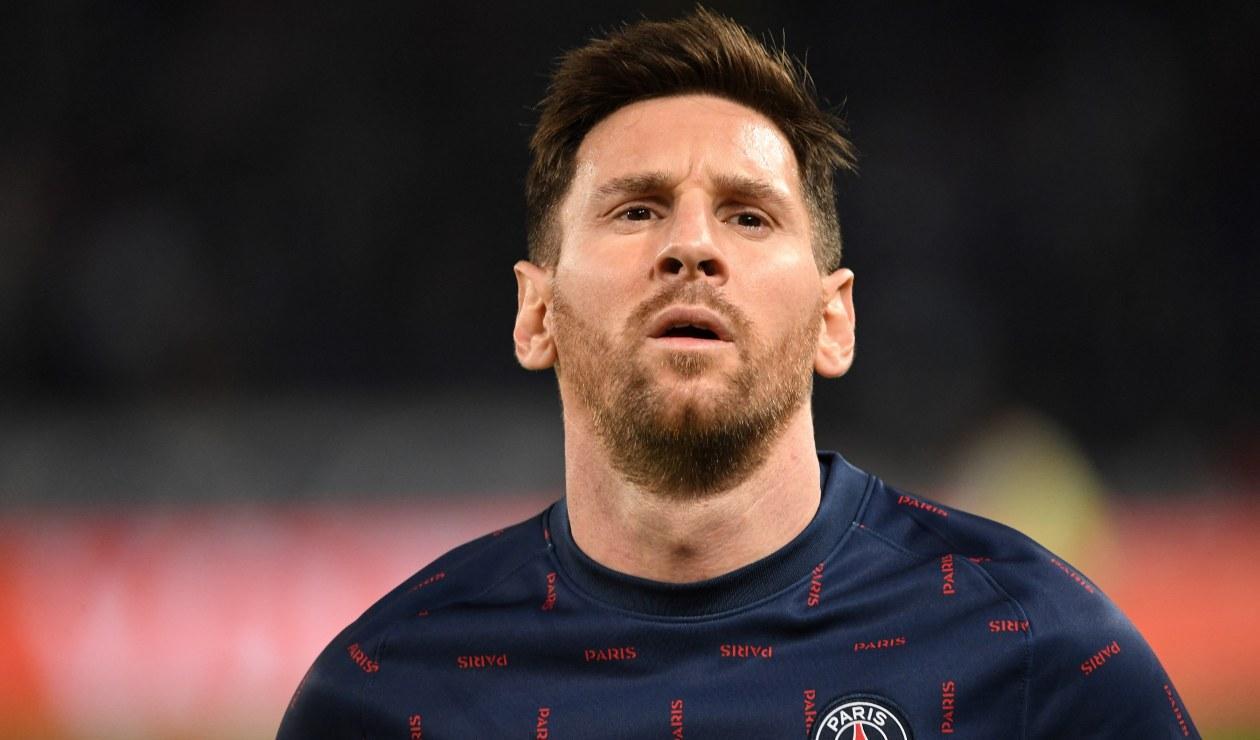 Messi, jugador del PSG