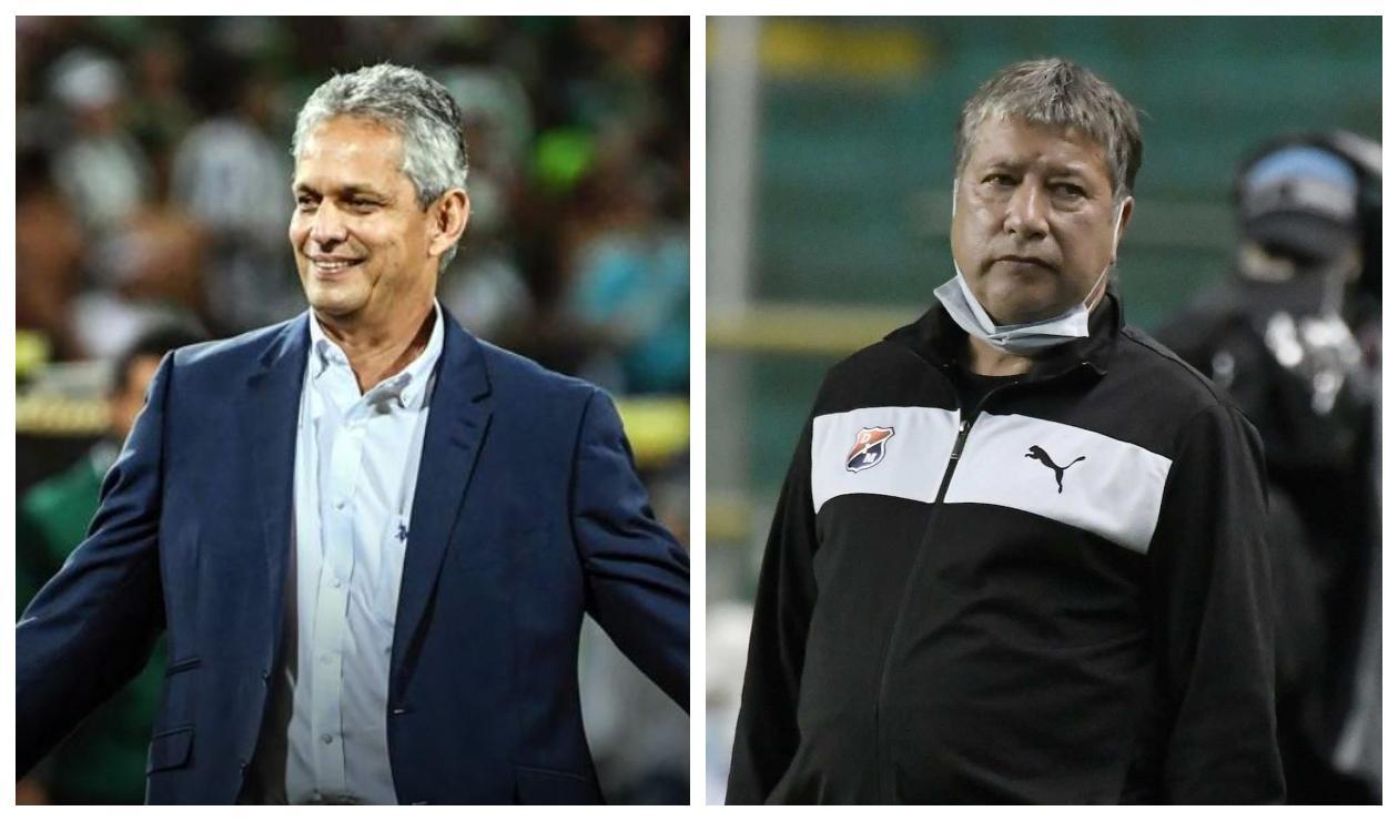 Reinaldo Rueda y Hernán Darío Gómez
