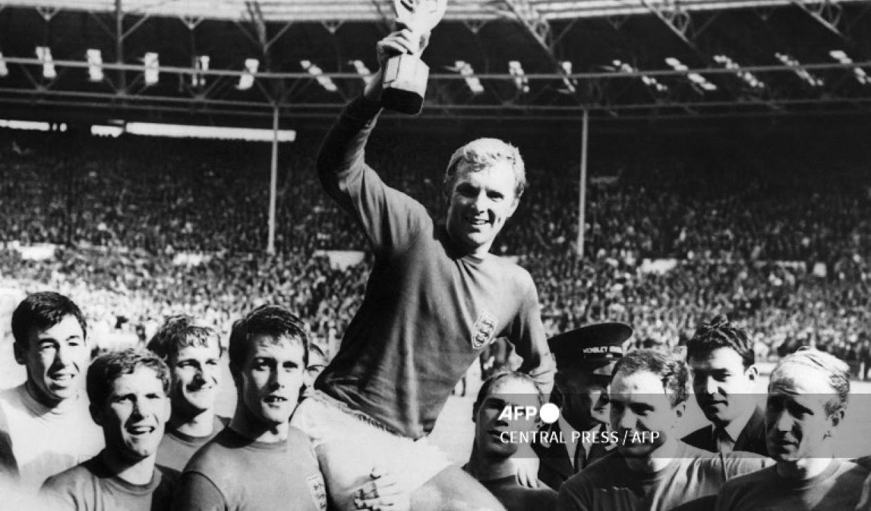 Inglaterra, campeones del Mundo de 1966