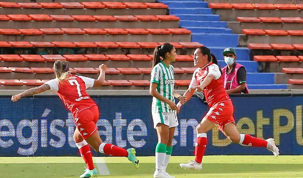 Santa Fe superó a Nacional en la Liga Femenina