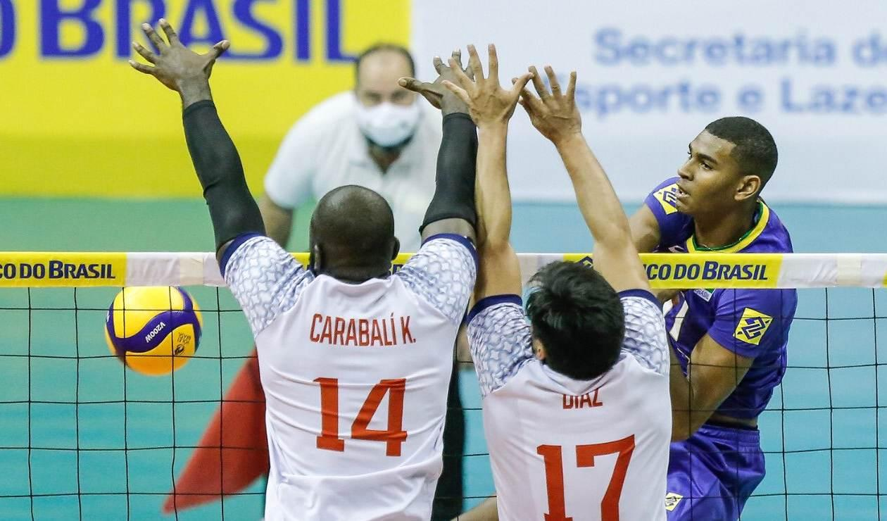 Selección Colombia de voleibol