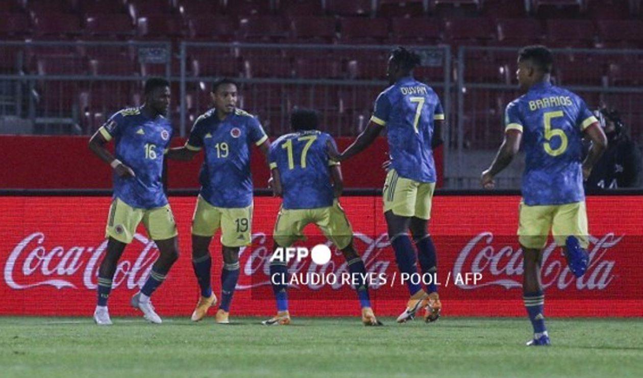 Selección Colombia vs Chile