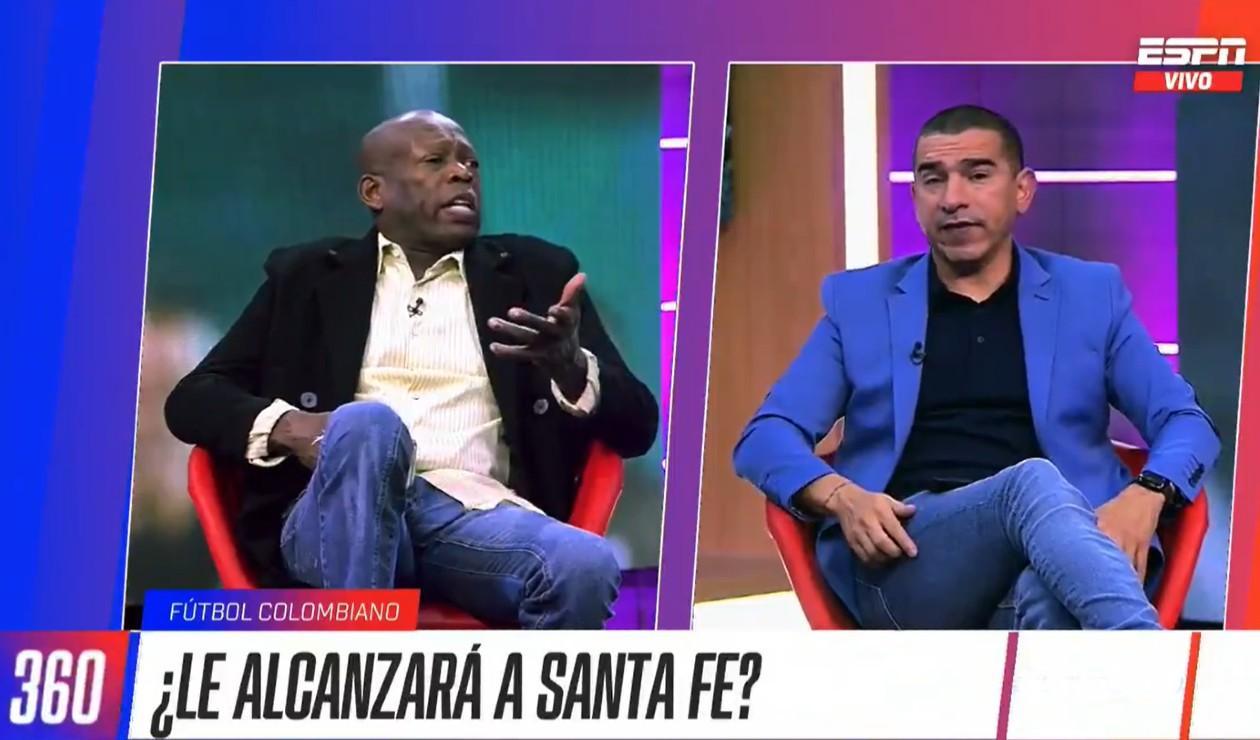 'Tino' Asprilla y Víctor Hugo Aristizábal