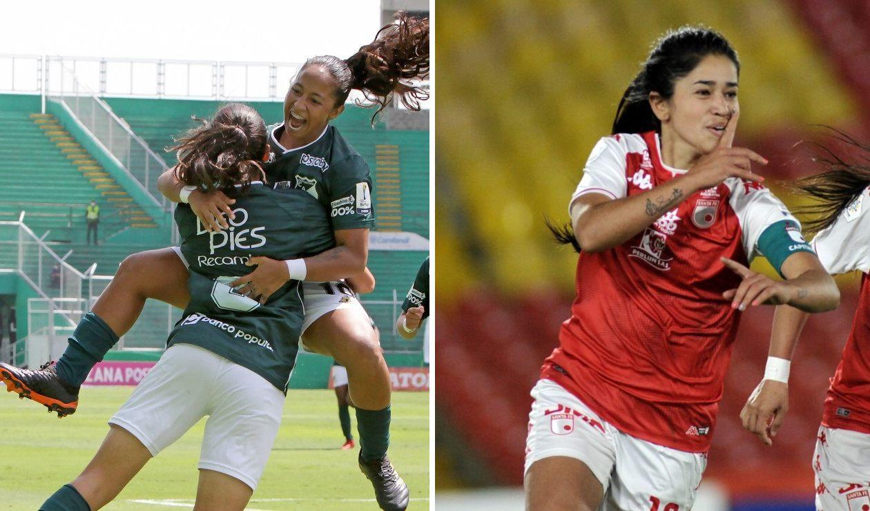 Deportivo Cali vs Independiente Santa Fe, Liga femenina