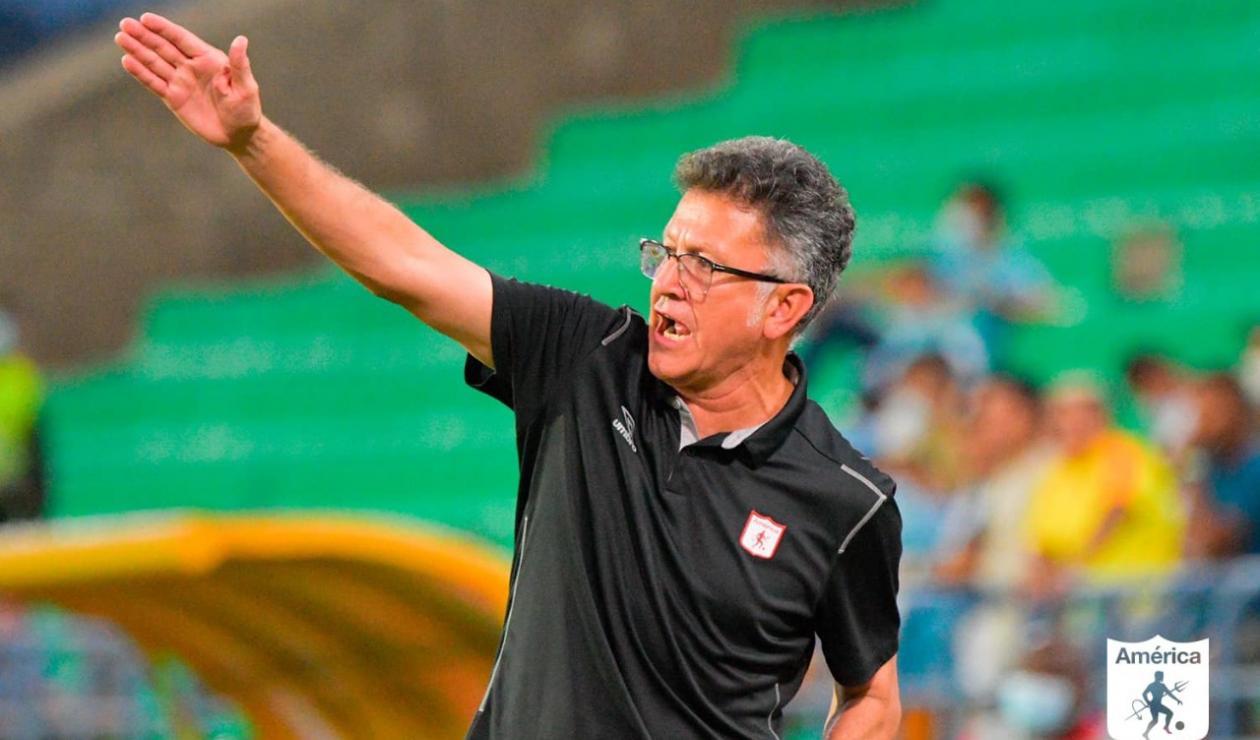 Juan Carlos Osorio, América de Cali; Carlos Antonio Vélez