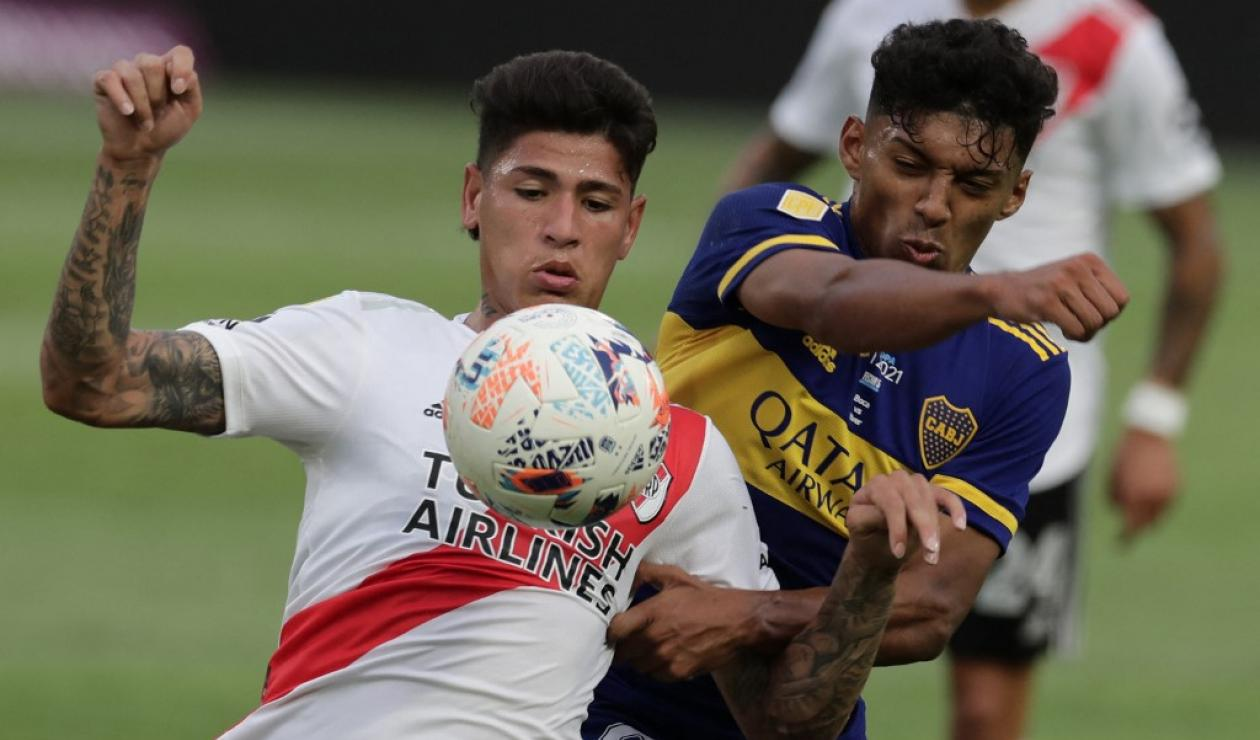 River Plate vs Boca Juniors, Liga de Fútbol Profesional