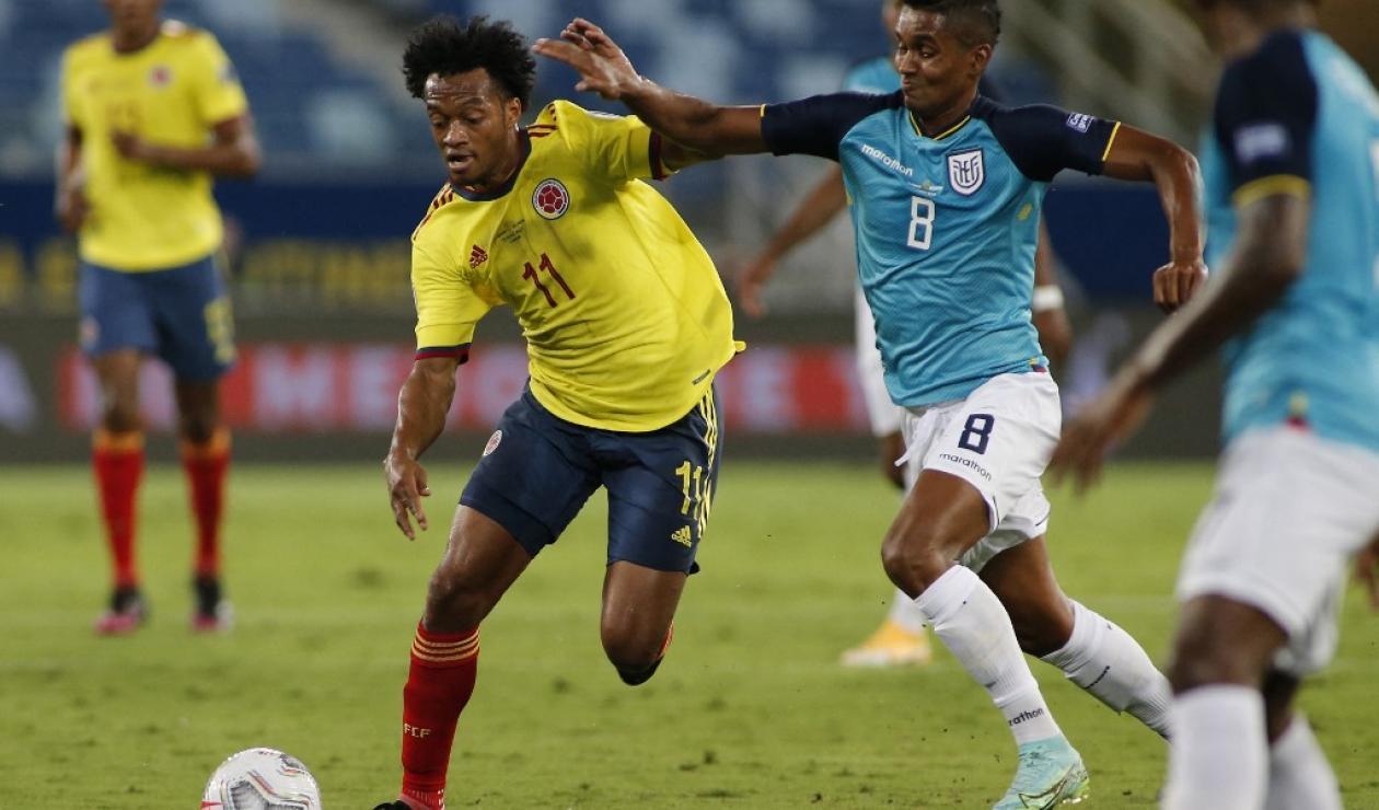 Colombia vs Ecuador, Eliminatorias Qatar 2022
