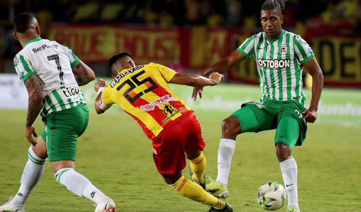 Nacional vs Pereira, Liga Betplay