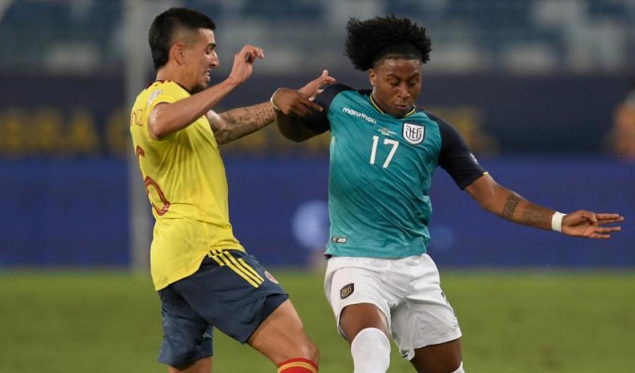 Colombia vs Ecuador, Eliminatorias