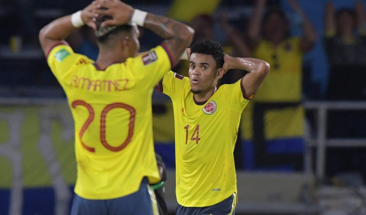 Colombia empató con Ecuador en la Eliminatoria