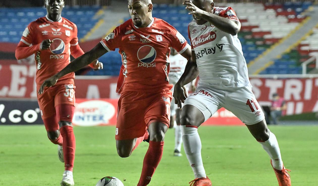 América de Cali, Independiente Santa Fe, Superliga Betplay 2021