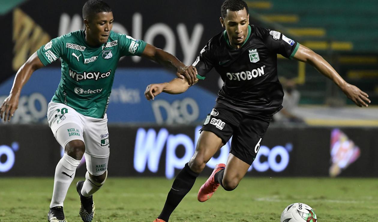 Deportivo Cali vs Atlético Nacional; Copa Betplay