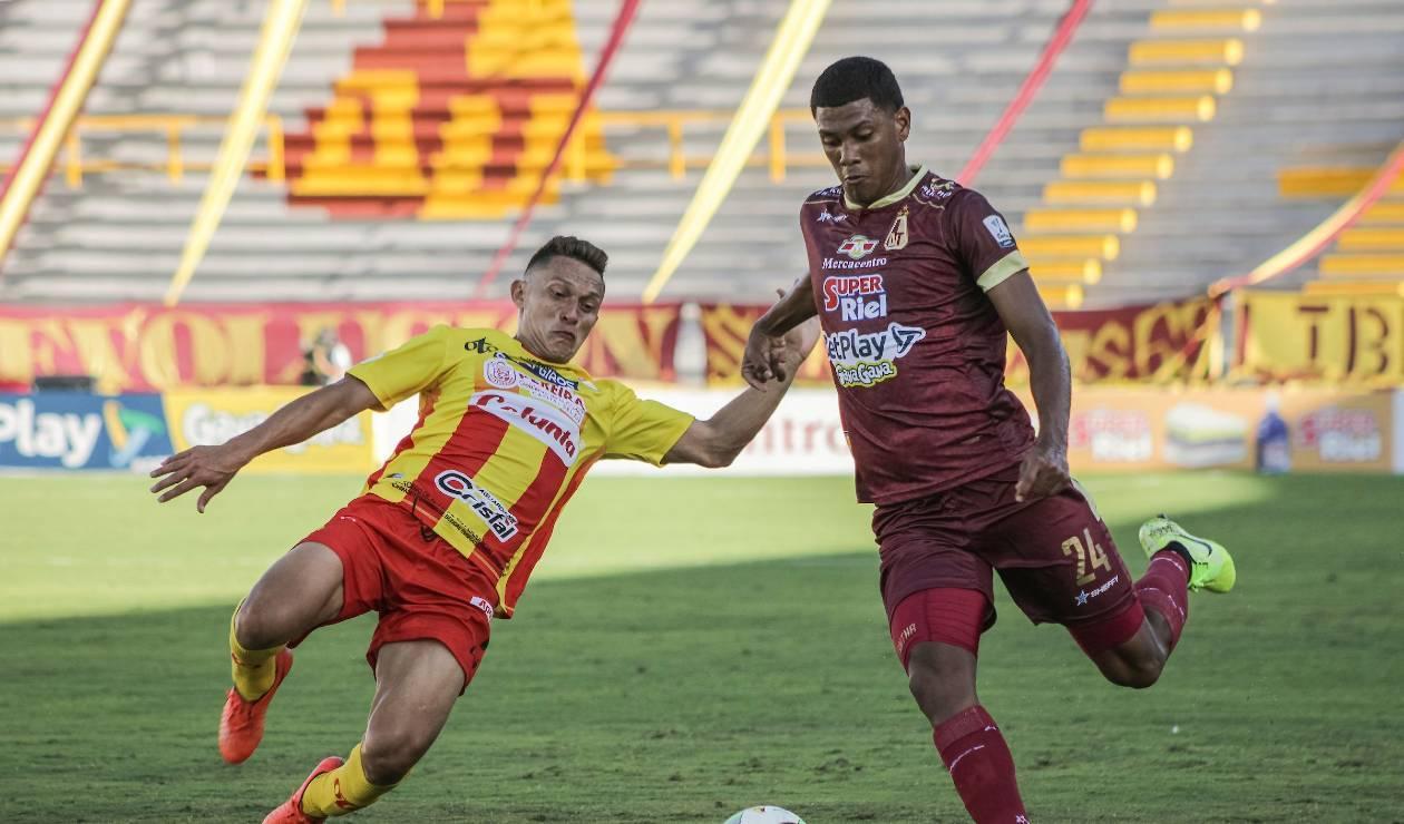 Deportes Tolima vs Deportivo Pereira