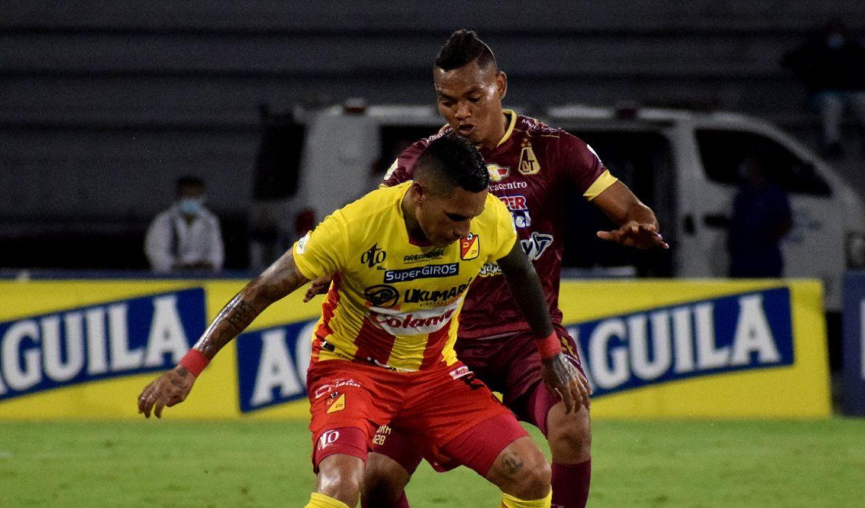 Deportes Tolima vs Deportivo Pereira, Copa BetPlay