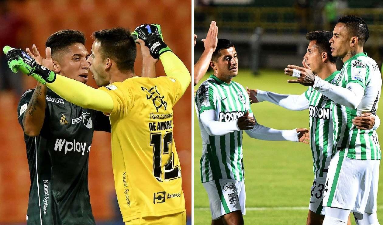 Deportivo Cali y Atlético Nacional