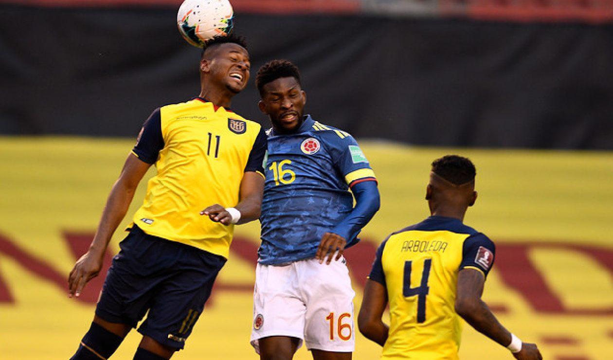 Ecuador vs Colombia, Eliminatoria