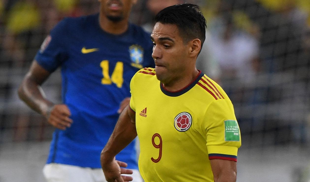 Falcao hoy, Selección Colombia, Eliminatorias sudamericanas 2022