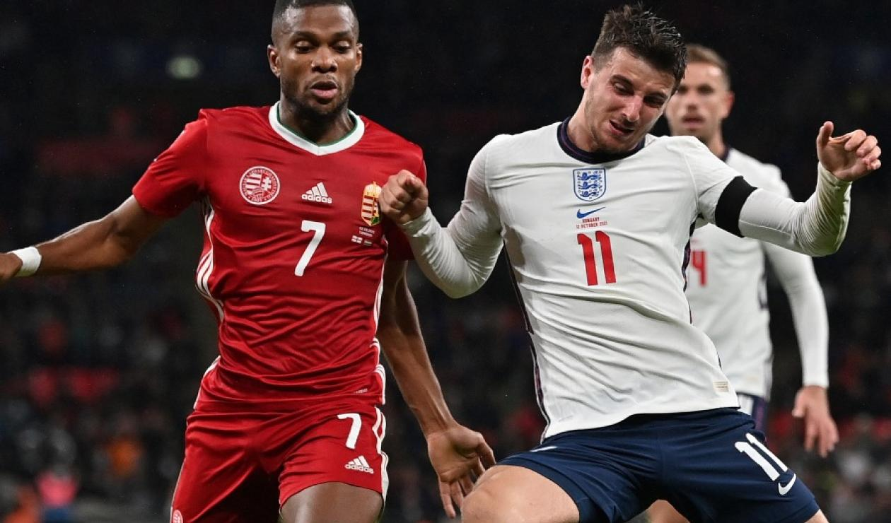 Inglaterra complicó su clasificación a Qatar