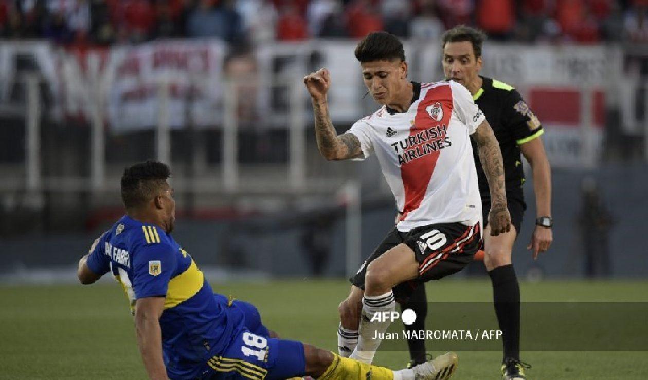 Jorge Carrascal, River vs Boca