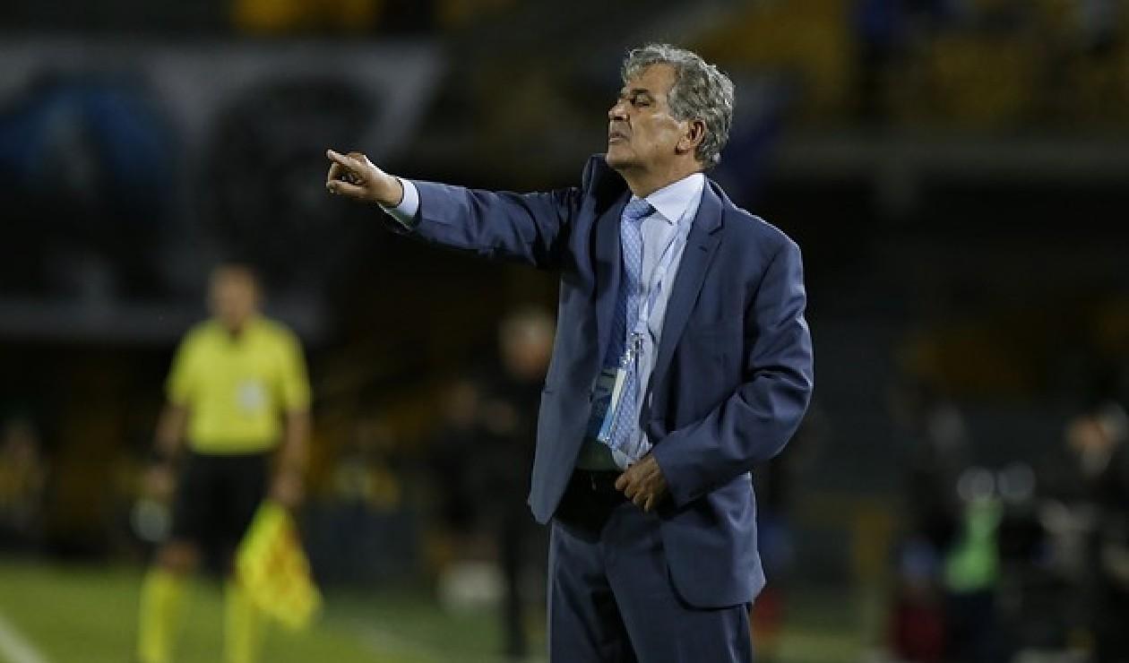 Jorge Luis Pinto, técnico colombiano