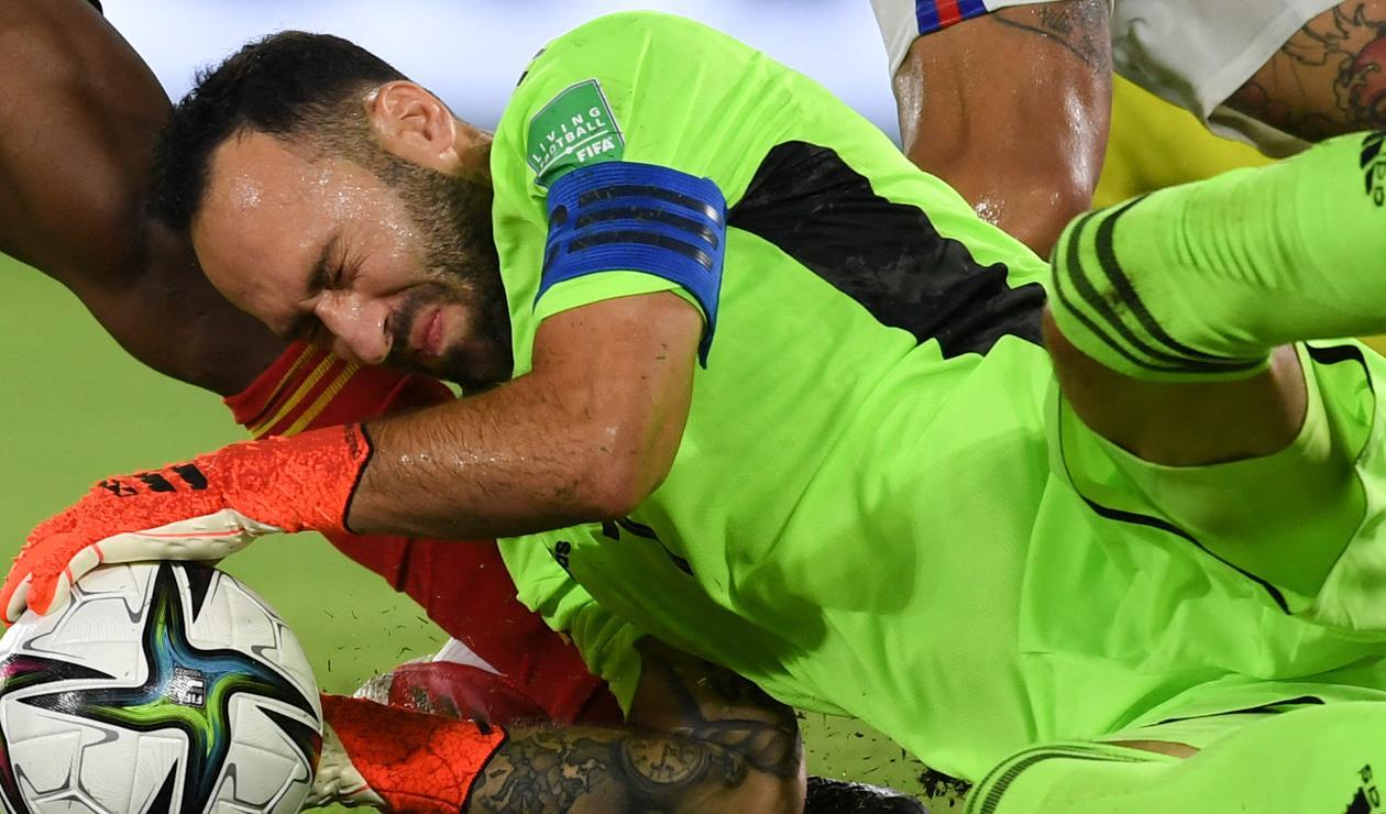 Selección Colombia, David Ospina, Eliminatorias Qatar 2022