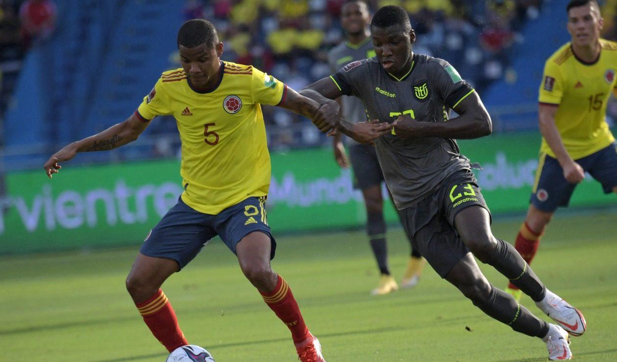 Selección Colombia vs Selección de Ecuador, Eliminatorias Qatar 2022