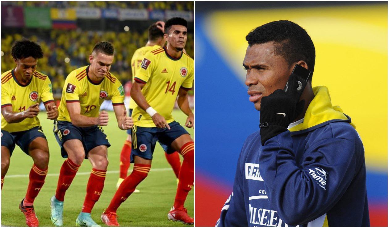 Selección Colombia e Iván Hurtado