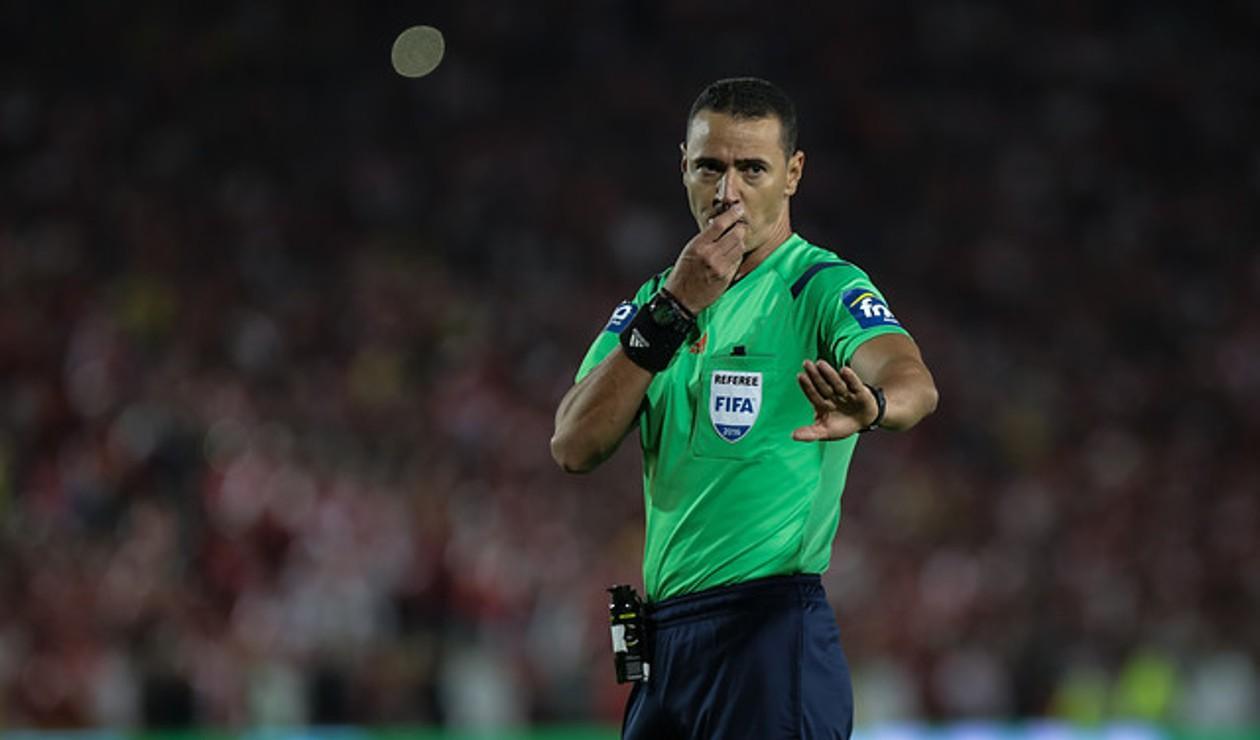 Wilmar Roldán, árbitro colombiano
