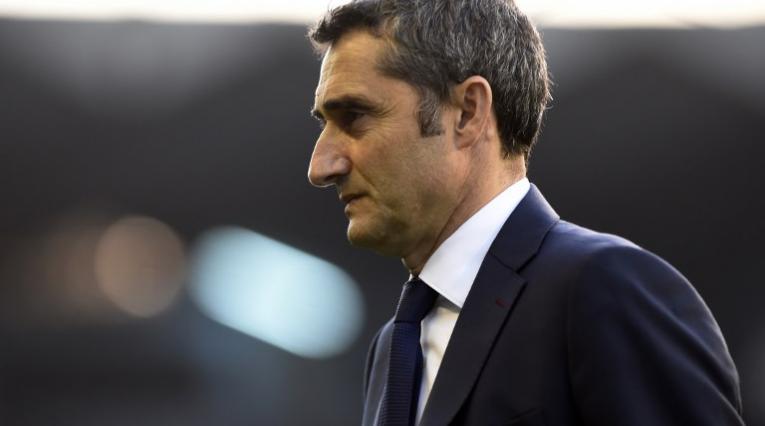 Ernesto Valverde, DT de Barcelona