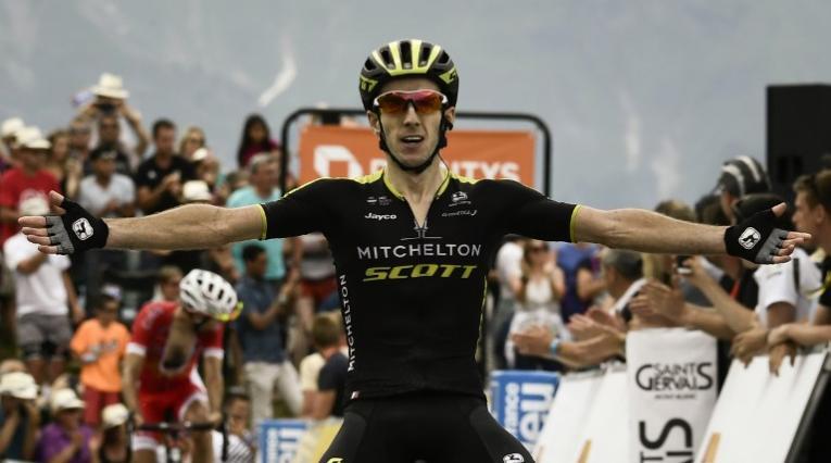 Ciclista del Mitchelton Scott Adam Yates