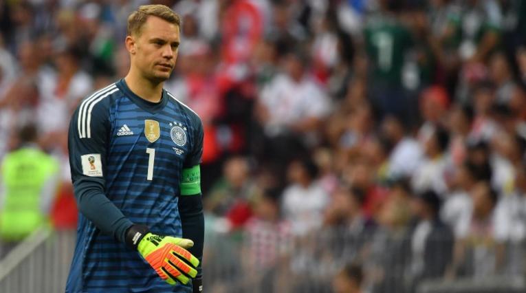 Arquero de la selección alemana